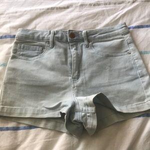 Forever 21 light denim shorts